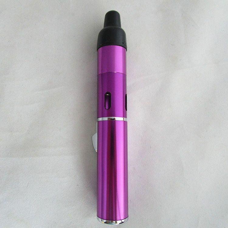 super Butane Smoke Torch Jet Flame Lighter Pen Click N Vape sneak A vape sneak a toke smoking metal pipe Vaporizer