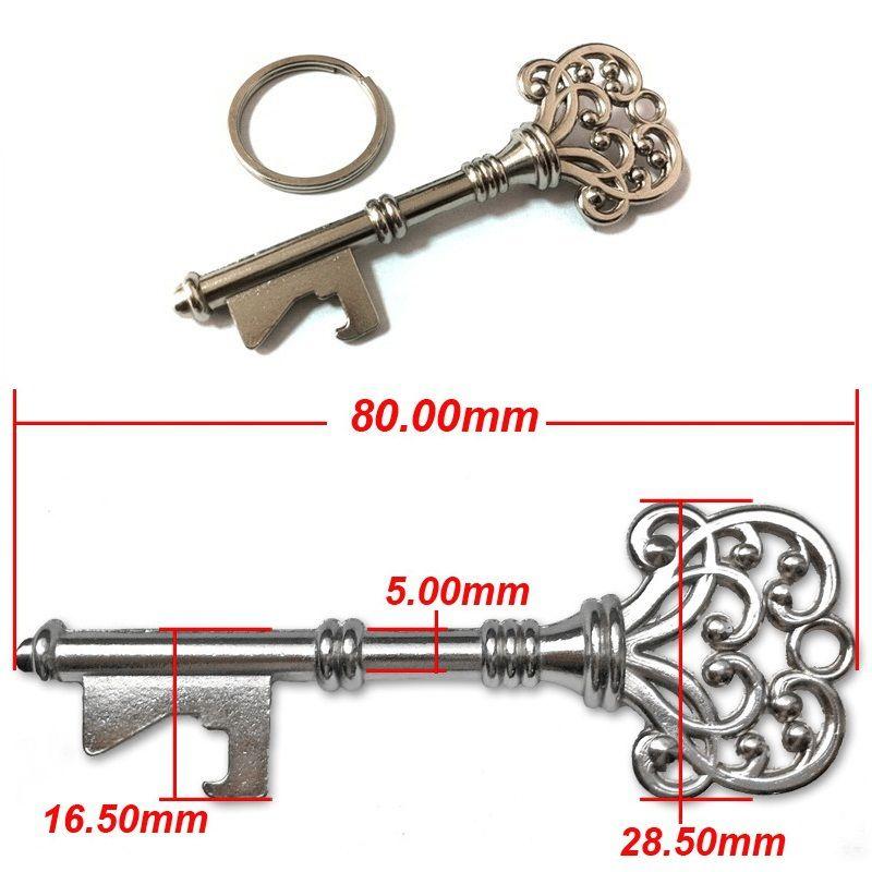 Novelty Keychain Design SUCK-UK Bottle Opener Key Ring Bar Beer Opening Tools for choice