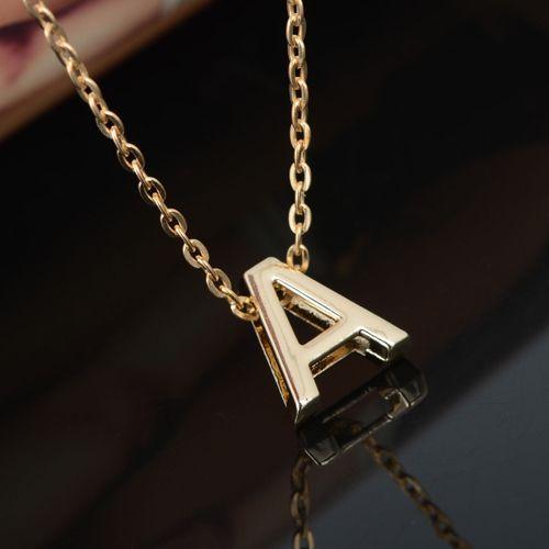 Großhandel Schreiben Name Initial Kette Anhänger Fashion Halskette ...