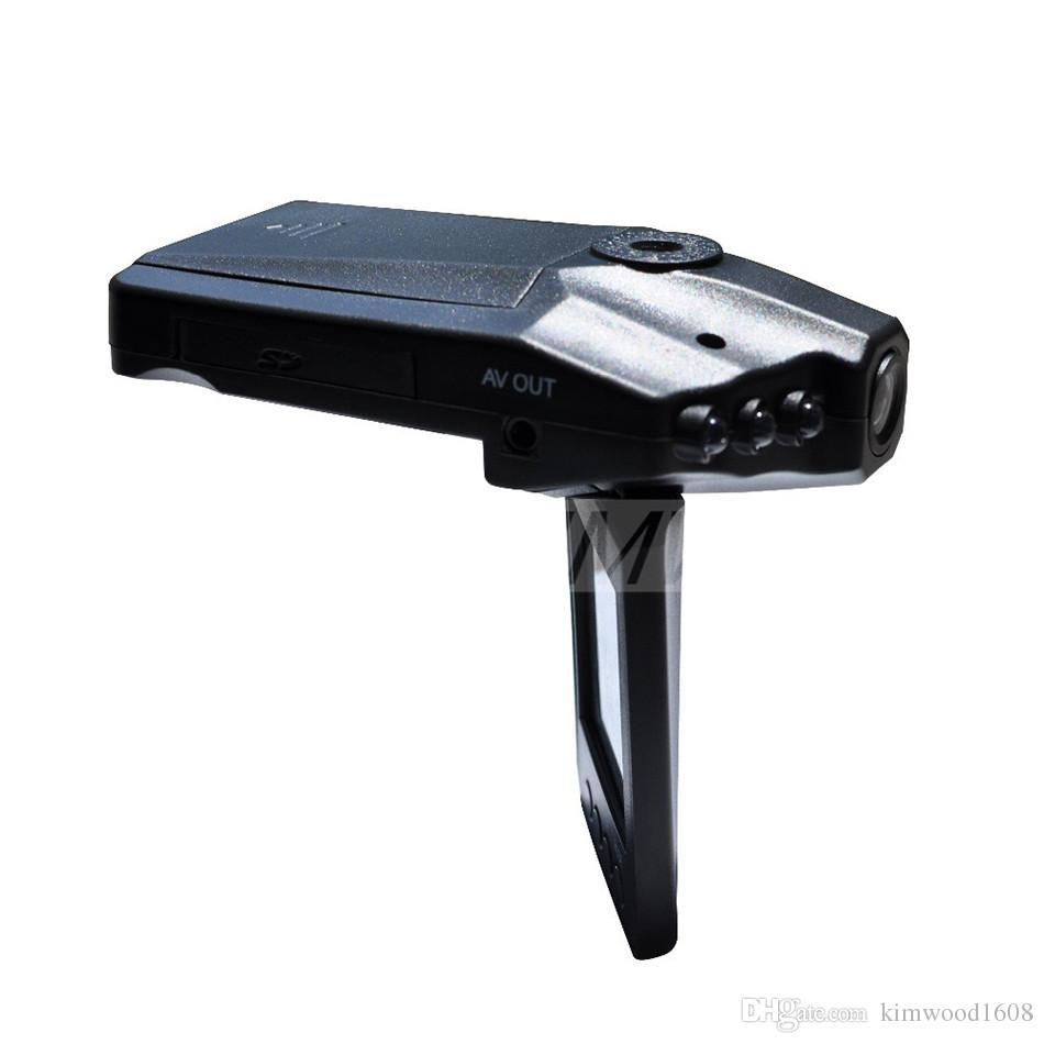 Ventas calientes 2.5 '' Coche DVR Recorder sistema de la cámara Black Box H198 Versión nocturna Video Recorder Dash Camera 6 IR LED