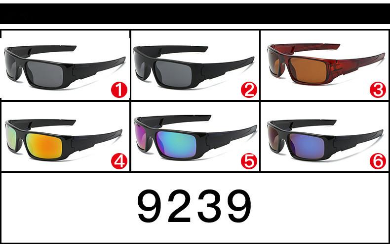 Biking Sport Eyewears Men Cycling Logo 0 Goggles 9239 MOQ =Climbing Men Skiing Outdoor Sport UV400 Protection Sunglasses