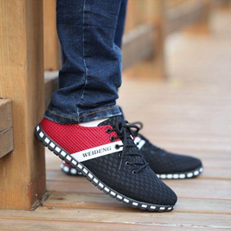 Men's Shoes/Casual wear breathable shoes/Flat foot shoes