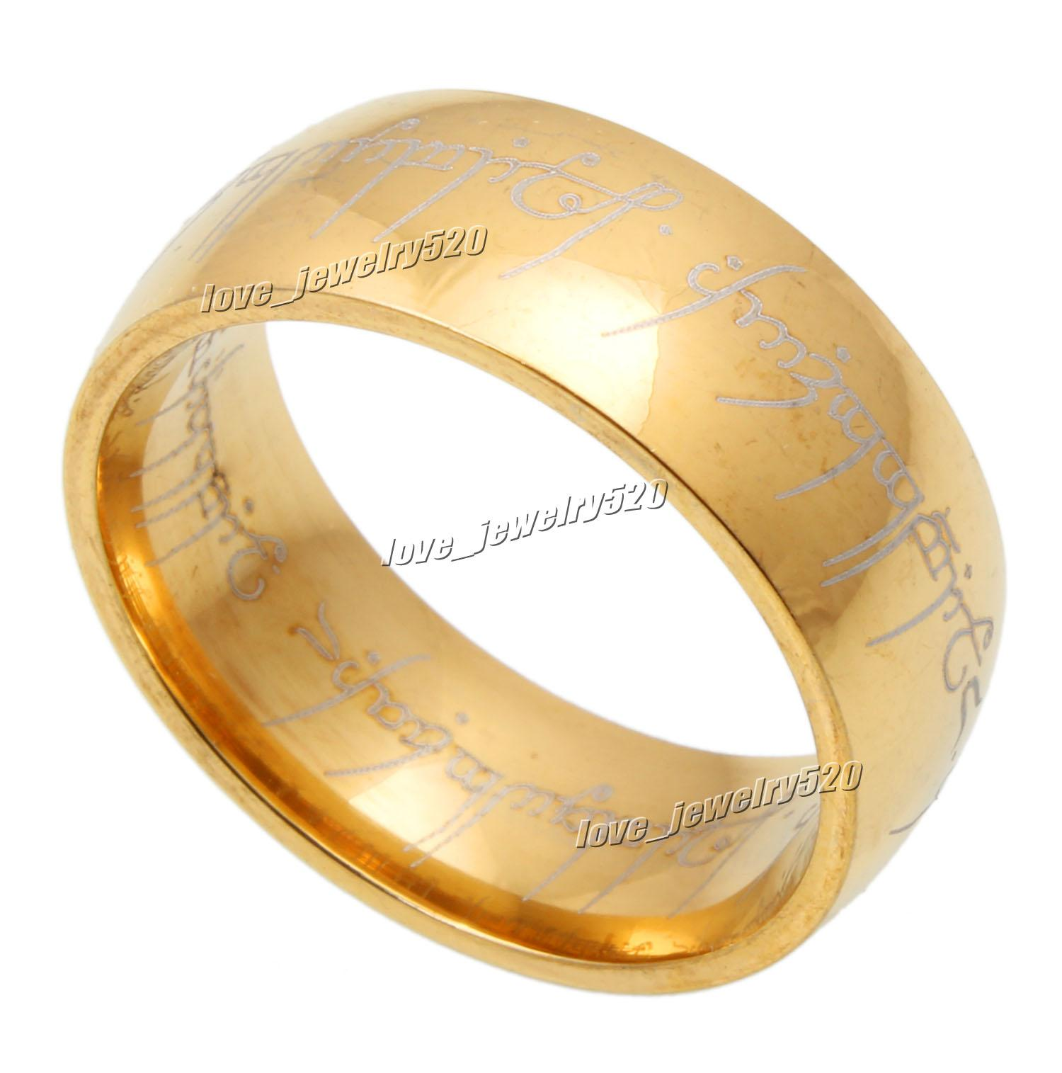 thick com celtic rings ip jewelry amazon irish jewellery gold stainless steel for ring goth tribal gothic women dp with