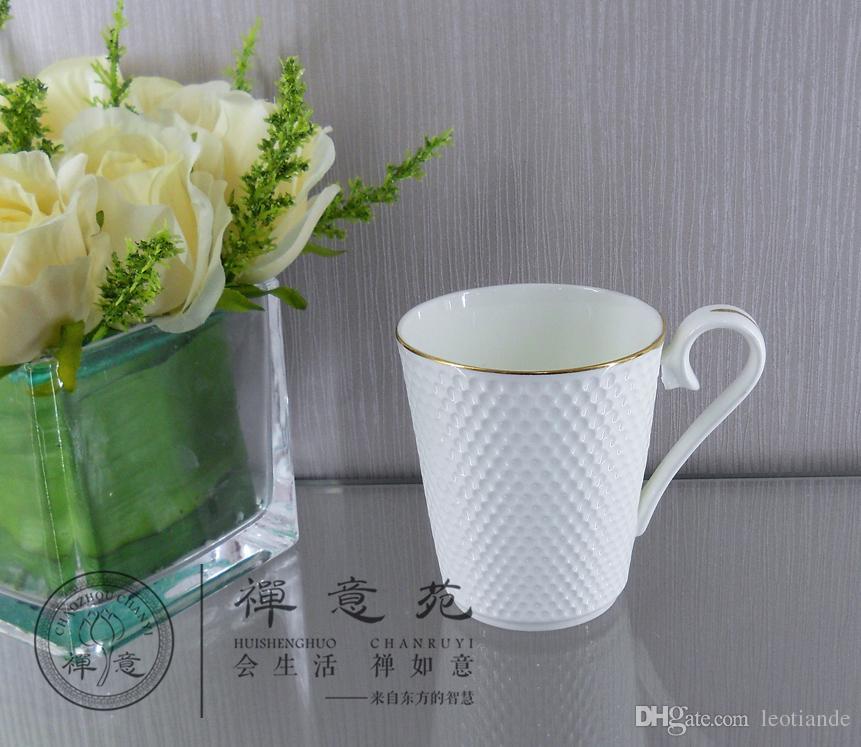 300ml golf mug porcelain square mug coffee cup ceramics water mug
