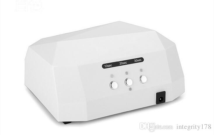 Moda CCFL 36 W DIODO EMISSOR de Luz Em Forma de Diamante Melhor Cura Secador de Unhas Nail Art Lamp Care Máquina para UV Gel Unha Polonês