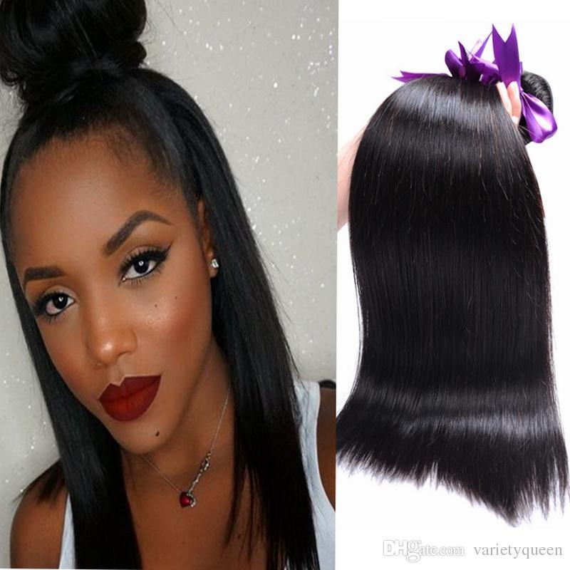 4 Cheap Bundles Of Brazilian Straight Human Hair Bundles No Chemical