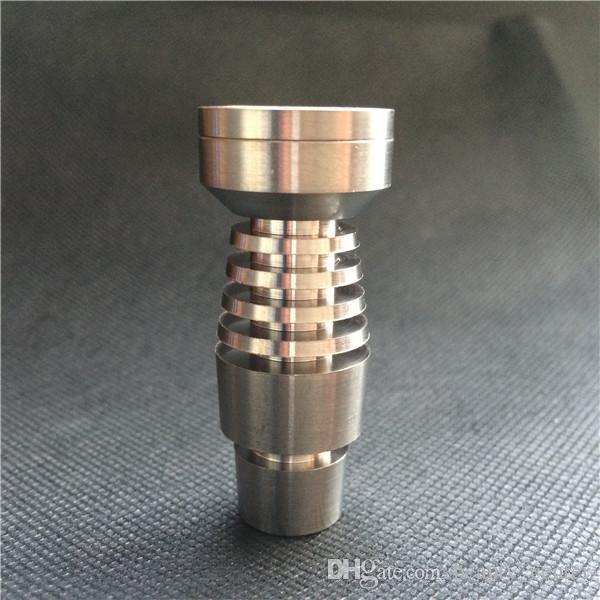 مسمار التيتانيوم الصف 2 لكلا 14.5MM و 18.8MM أنابيب المياه بونغ الزجاج 2 في 1