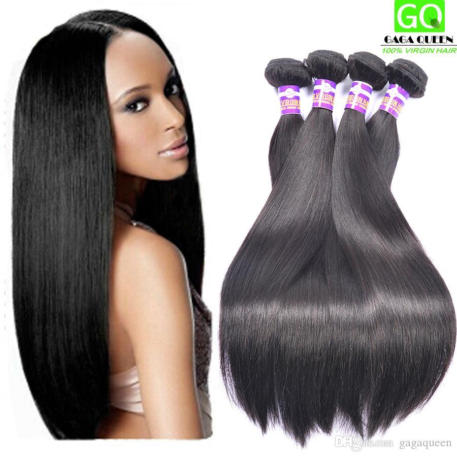 8 28inch Cheap Peruvian Hair Weave Remy Human Hair Extensions Virgin