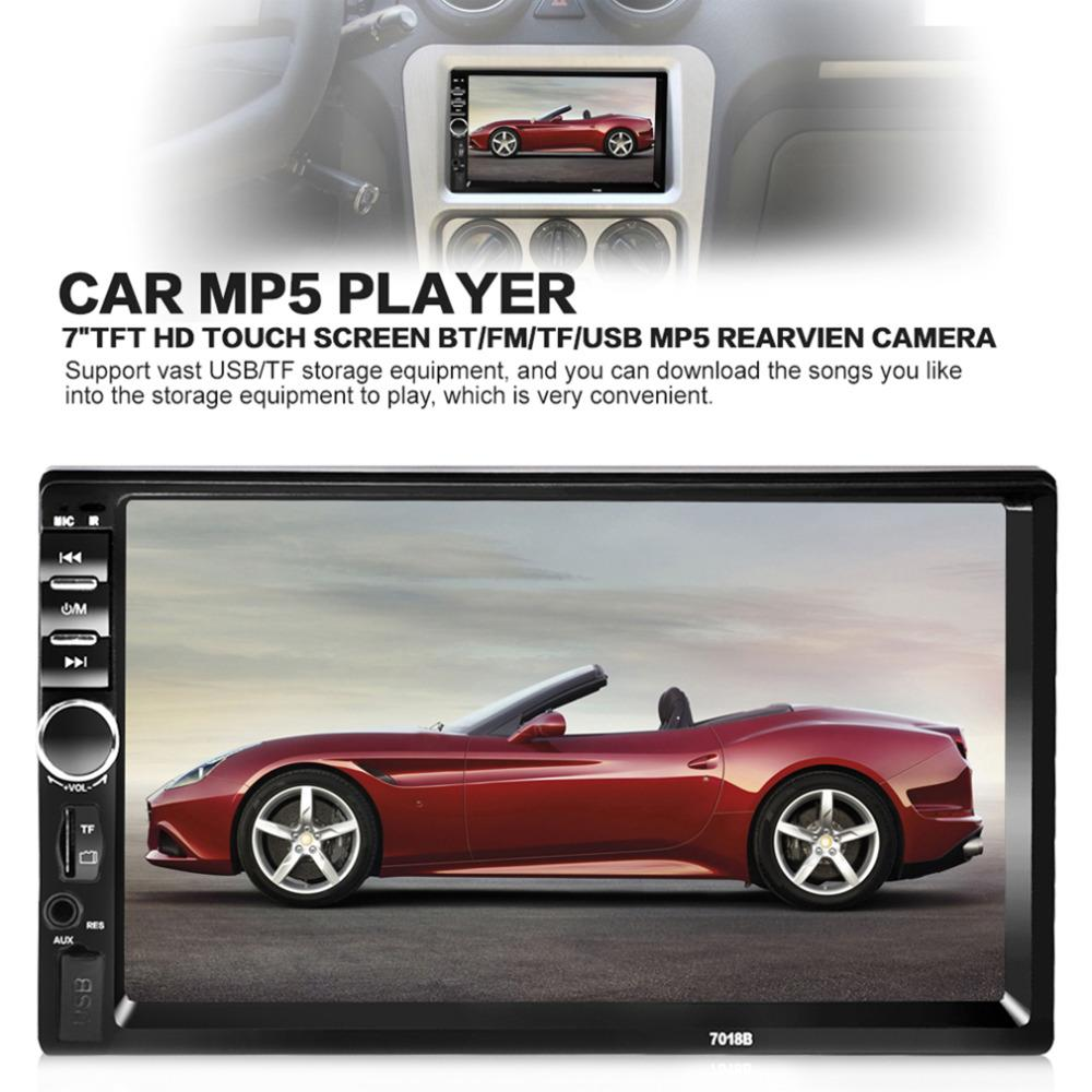 7 Bluetooth Car Radio Audio Stereo Player Handsfree 7018B 7 Inch Car MP5  Player TF/SD MMC USB FM Cheapest Car Stereos Cheapest Place To Buy Car Audio  From ...