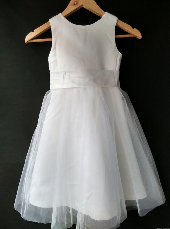 2015 NOUVEAU mariée robe de demoiselle d'ivoire en mousseline de soie boutons robe belle robe de fête d'anniversaire