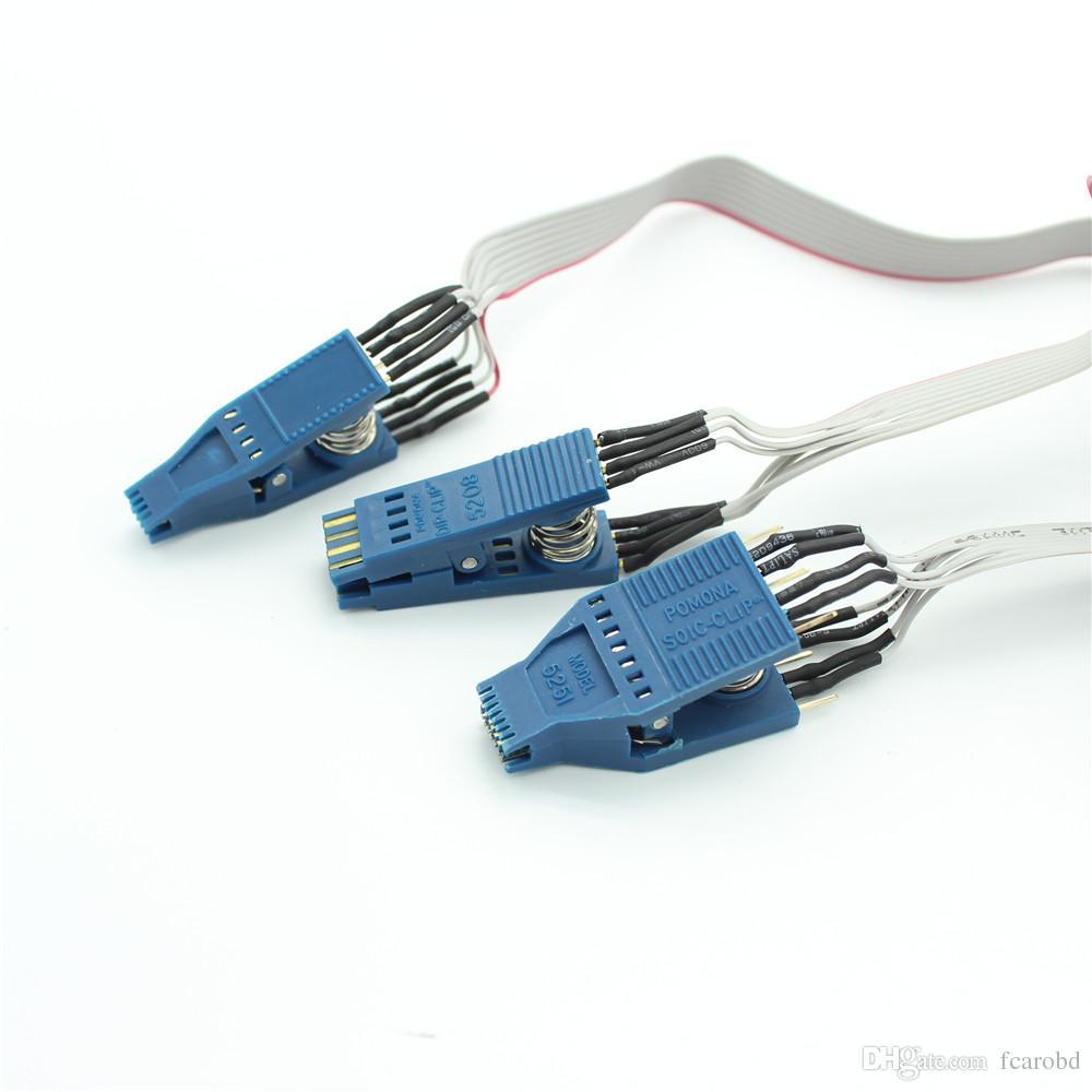 Fcarobd Tacho Universal CLIP EEPROM Connector SOIC-14CON Tacho pro 2008 NO.43- 5251 CLIP Tacho 2008 unlock CLIP