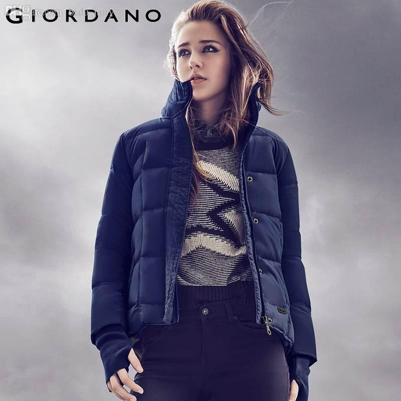 Online Cheap Wholesale Giordano Women Winter Down Jacket 2015 ...
