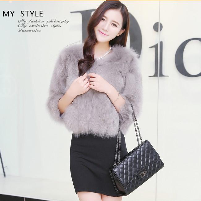 Online Cheap Winter Women Faux Fur Coat Jacket Fashion Popular ...