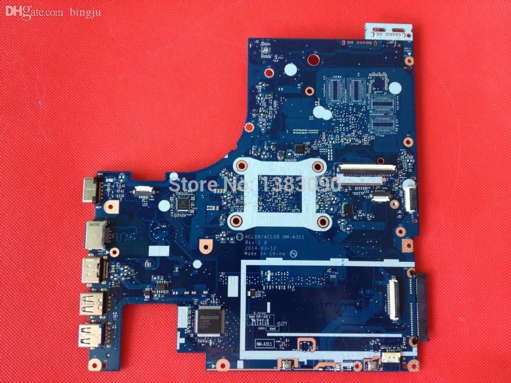Wholesale-High quanlity Laptop Motherboard For Lenovo G50-30 With pentium  CPU ACLU9/ACLU0 NM-A311 Mainboard