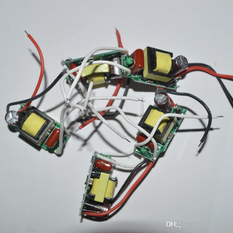 conducente lampada principale interno 7-12 * 1W ha condotto il driver 7W 9W 8W 10W 11W 12w lampada conducente 85-265V ingresso l'alta qualità E27 GU10 E14 LED lampada