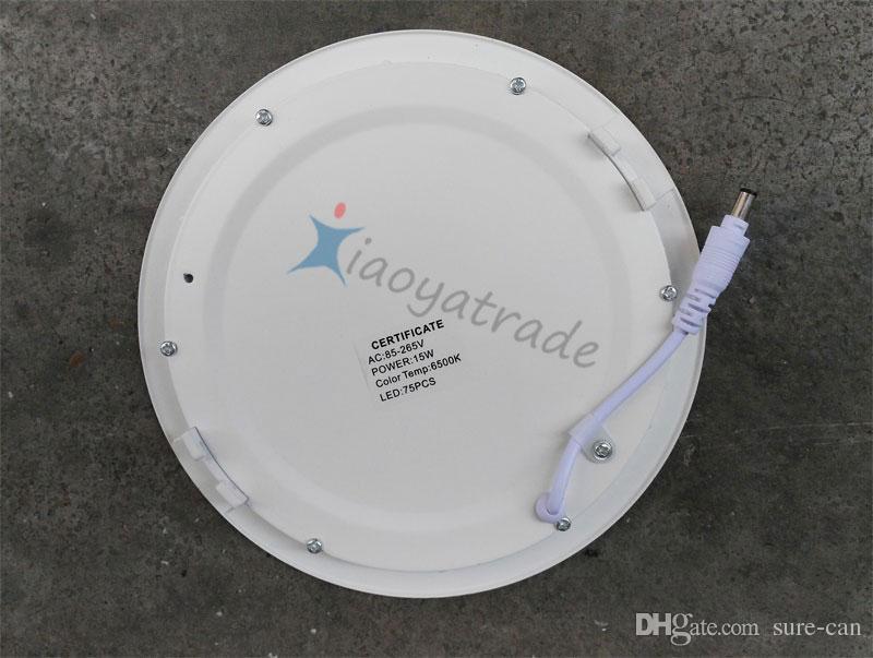 Pannello LED SMD 2835 3W 6W 9W 12W 15W 18W 110-240V led soffitto incasso giù la lampada da incasso SMD2835 + driver