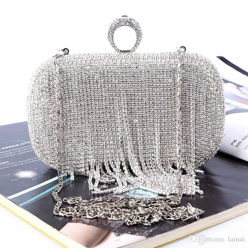 Factory Direct Retaill Wholesale Handmade Unique Crystal Evening Bag ... 3b050d1a2a858