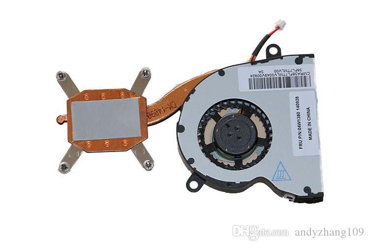 100٪ جديد الأصلي محمول heatsinkfan تبريد لينوفو ل ثينك باد e10 e11 x120e x121e دفتر cpu 04W0274 04W1380
