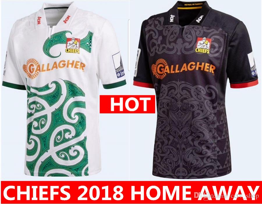 bfbfcac62 2019 Hot Sales Chiefs 2018 Home Away Rugby Jerseys NRL National Rugby  League Shirt Nrl Jersey New Zealand 18 19 Chief Shirts S 3xl From  Cctv shop