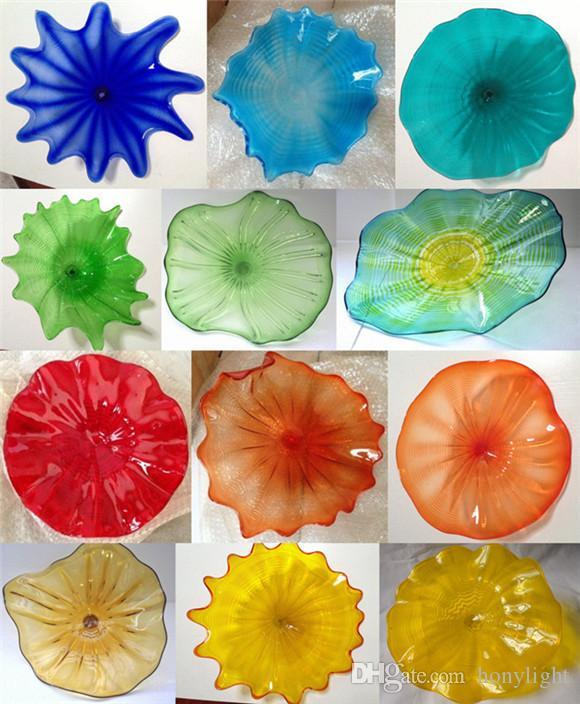 Lampade a flower di Murano Lampade Arte Arti Mediterraneo Art Moderna Art Casa Decorativa A Mano Blown Vetro Appeso Piantone da parete