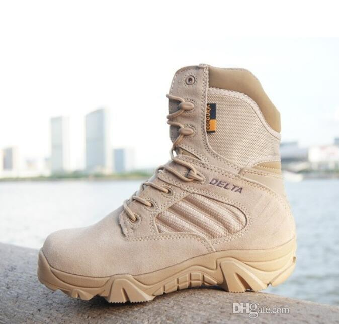 2d359afb579 Winter Autumn Men Military Boots Quality Special Force Tactical Desert  Combat Ankle Boats Army Work Shoes Leather Snow Boots