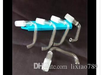 Бесплатная доставка Оптовая кальян аксессуары - классический стекло подножка, интерфейс 14 мм 10 шт. / лот