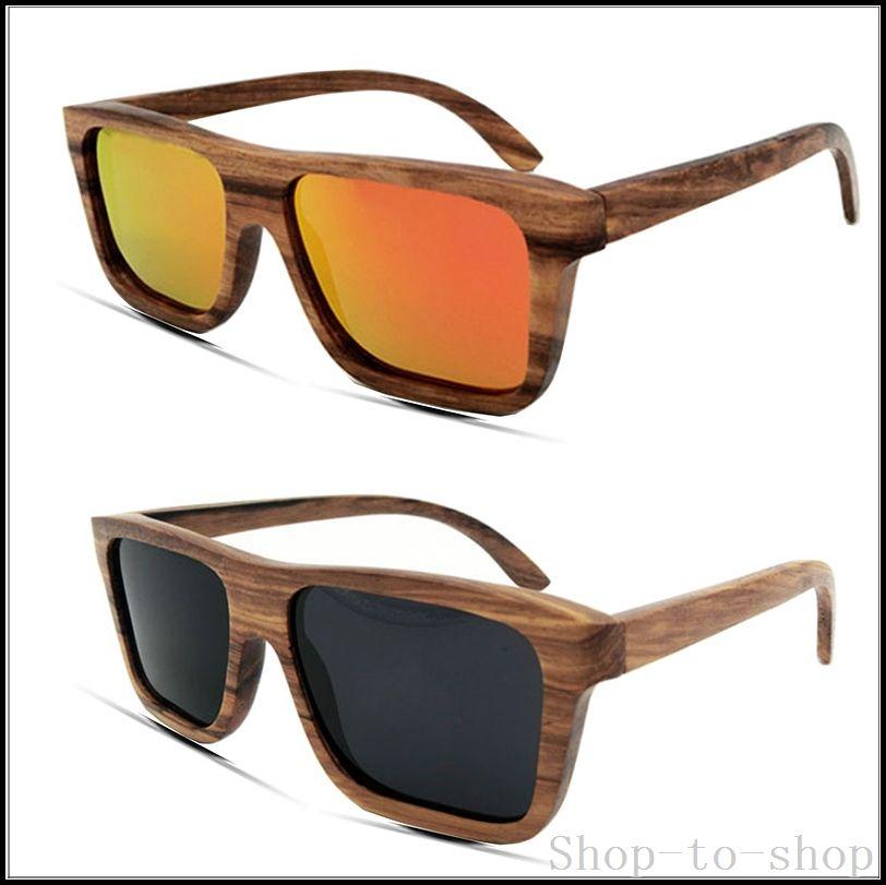 Party Wood Frame Glasses Rainbow Hand 2016 Zebra Wood Sunglasses ...
