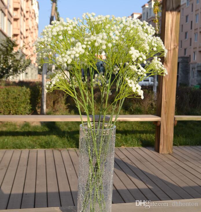 Gypsophila baby's breath artificial flowers PU flower Plant Home Wedding Decoration decorative flowers bridal bouquet decorat PF01