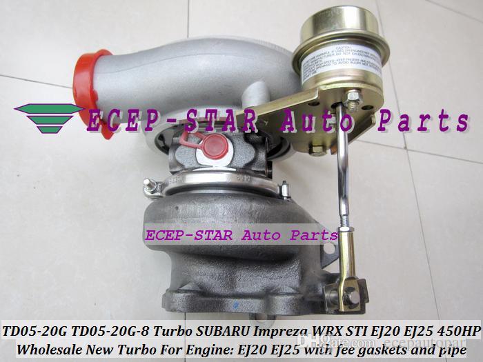 Турбо ремкомплект восстановить комплект комплекты TD05 турбонагнетателя-20 г TD05 турбонагнетателя 20г 8 TD05 турбонагнетателя-20г-8 турбокомпрессор для Субару Импреза STI с EJ20 EJ25 2.0 л Макс 450 л. с.