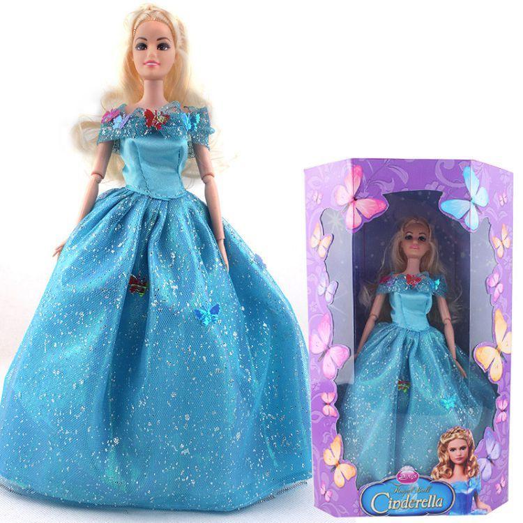 Disney Enchanted Nursery Cinderella Baby Doll In Blue: 2019 2015 New Cinderella Princess Doll 11 Inch Movable