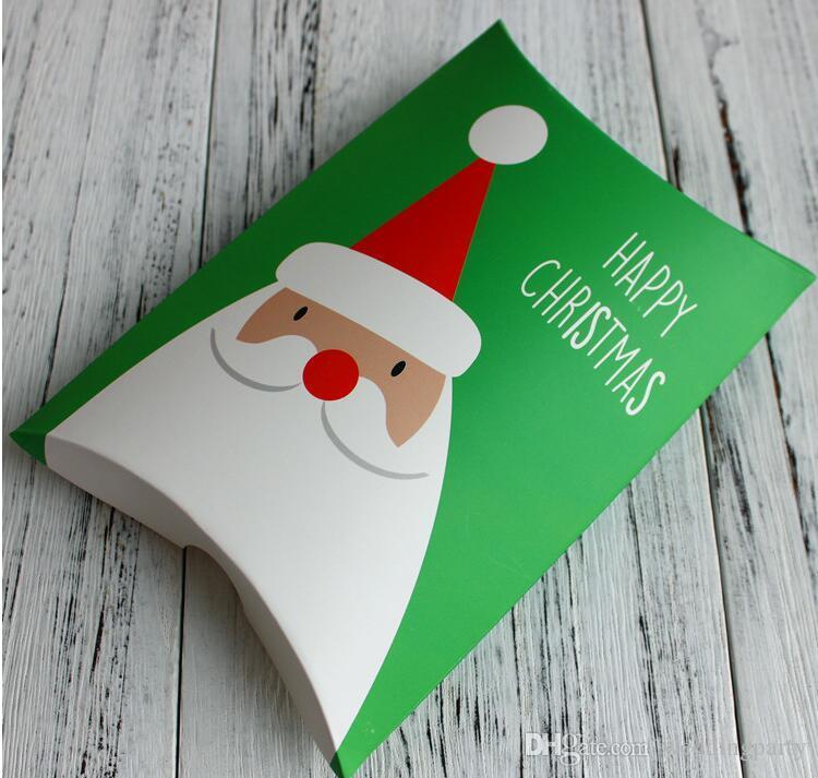 Neue Weihnachtsgeschenke Verpackung Candy Boxes Wrapping Box für Weihnachten und Neujahr Santa Claus Present Verpackung
