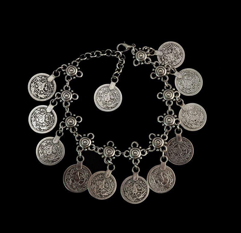 Argent Couleur Bohème Métal Tassel Cheville De Luxe Charme Coin Cheville Bracelet Pour Femmes Bijoux D'été Style C006