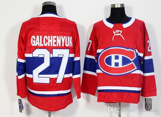 New Montreal Canadiens Jerseys  27 Galchenyuk Jersey 2017 New Hockey ... a75727972