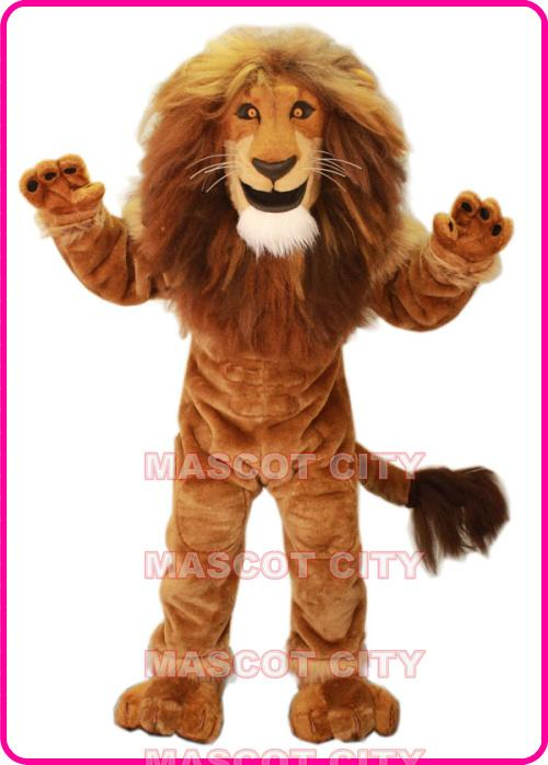 See larger image  sc 1 st  DHgate.com & Male Lion King Mascot Costume Adult Size Wild Animal Theme Carnival ...