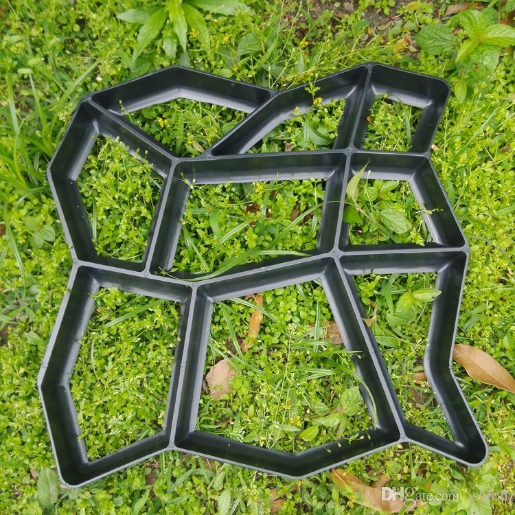 molde libre del pavimento del envo para hacer los caminos para su jardn moldes del jardn