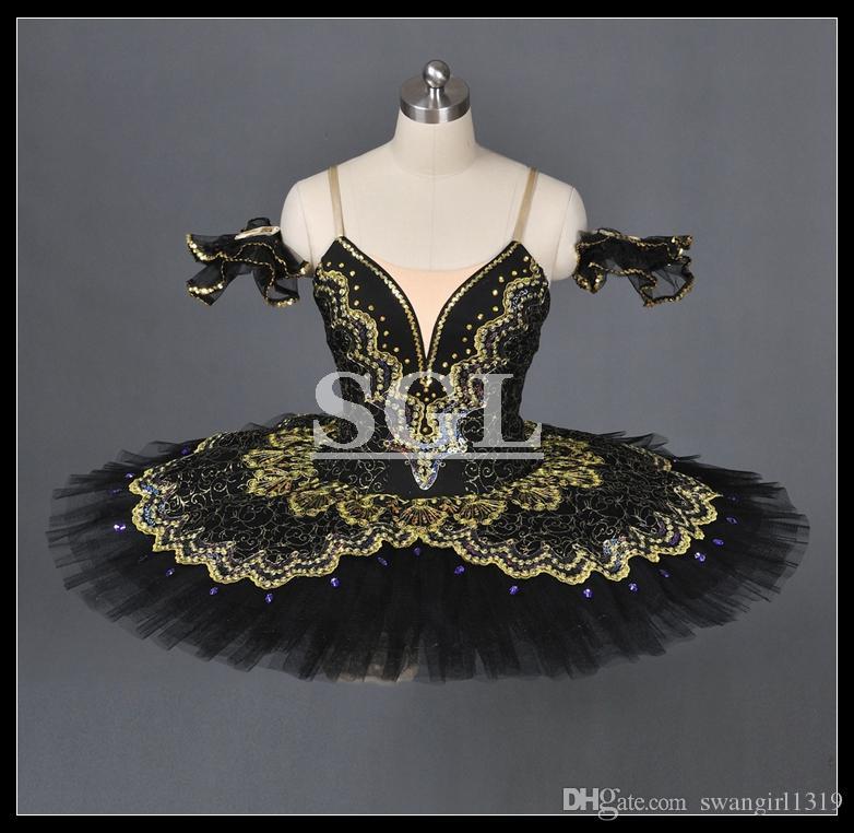 Бесплатная доставка балетные костюмы для испанского танца в Щелкунчик и Дон Кихот балетная пачка юбки для продажи конкурс AT1056