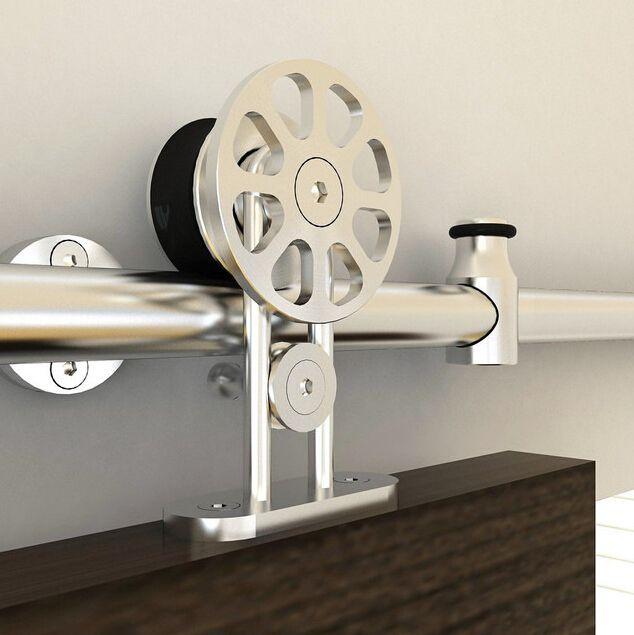 Diyhd Ft Spoke Wheel Hanger Stainless Steel Top Mounted - 10 ft stainless steel table