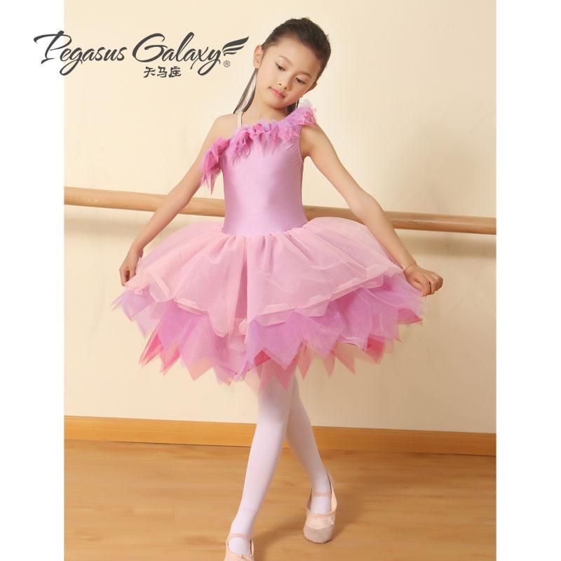 Compre Vestidos De Tutú Para Niñas Desgaste De La Danza Niños De ...