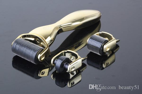 3in1 كيت Skinroller مايكرو إبرة ديرما الرول نظام الساخن بيع في كل العالم