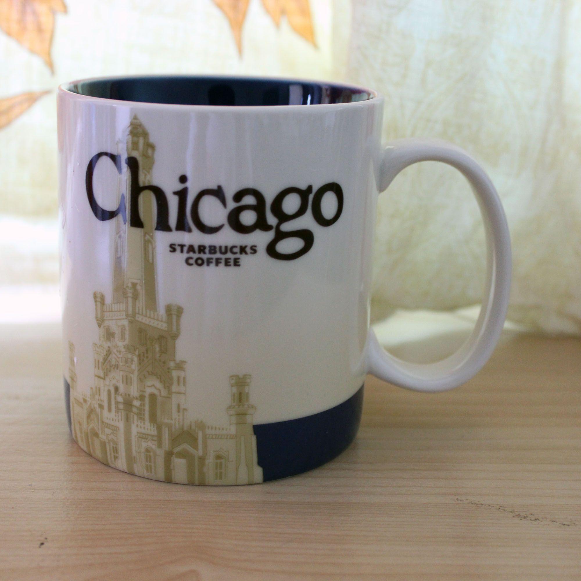 16oz емкость керамическая городская кружка Лучшая классическая кофейная кружка чашка Чикаго Сити