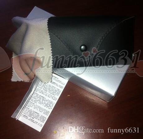 Yaz yeni kadın ve erkek güneş gözlüğü kutusu çanta durumda bez gözlük orijinal kutusu ücretsiz kargo