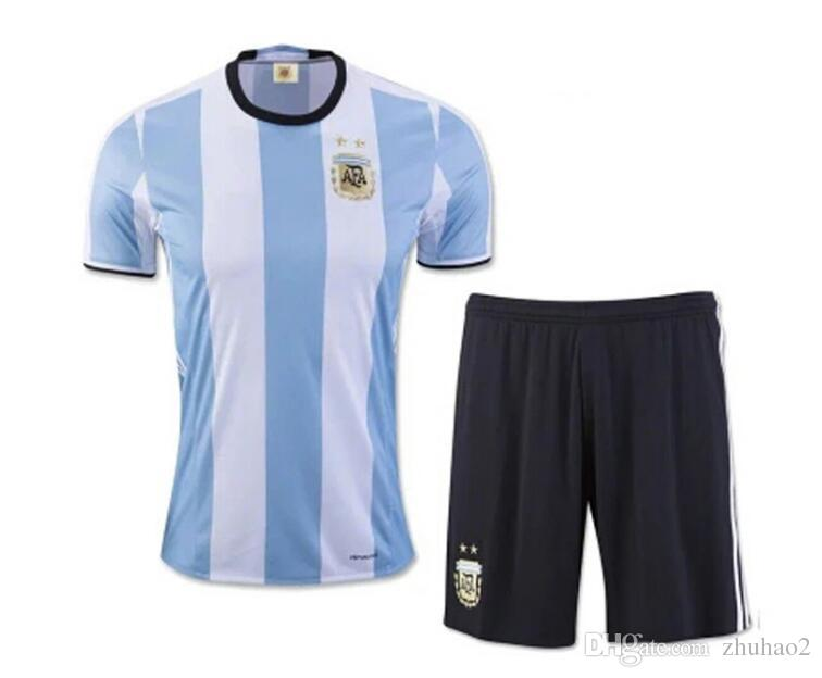 899677723d4 2019 2018 World Cup Argentina Soccer Jersey 2018 Argentina Adult Home Blue  Soccer Shirt Messi Aguero Di Maria Football Uniform From Zhuhao2