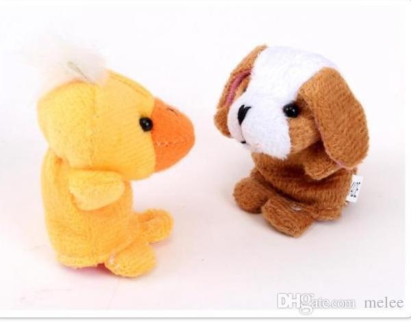 500ピース/ロットDHLフェデックス動物指の人形キッズベイビーかわいいプレイストーリータイムベルベットぬいぐるみ(盛り込まれた動物