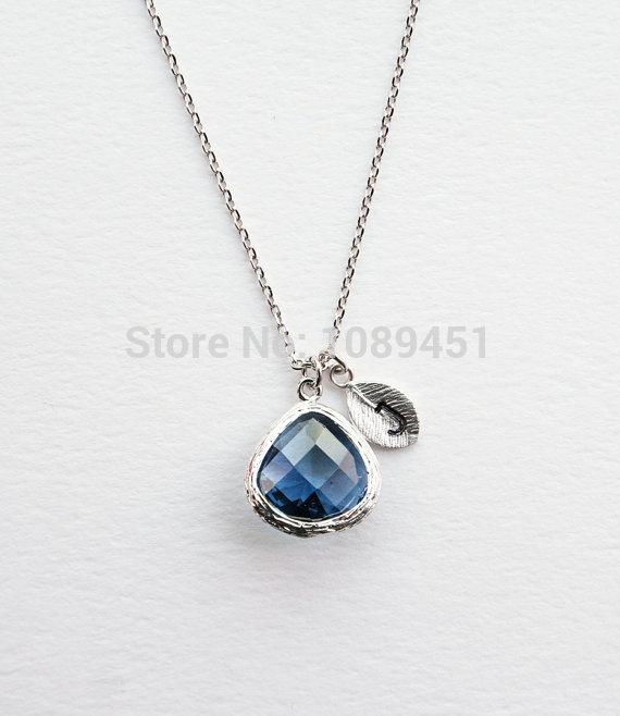 2018 new design maxi dark blue stone necklace sapphire blue necklace 2018 new design maxi dark blue stone necklace sapphire blue necklace leaf j pearl necklaces pendants fashion for women 2015 from walked 2814 dhgate aloadofball Image collections