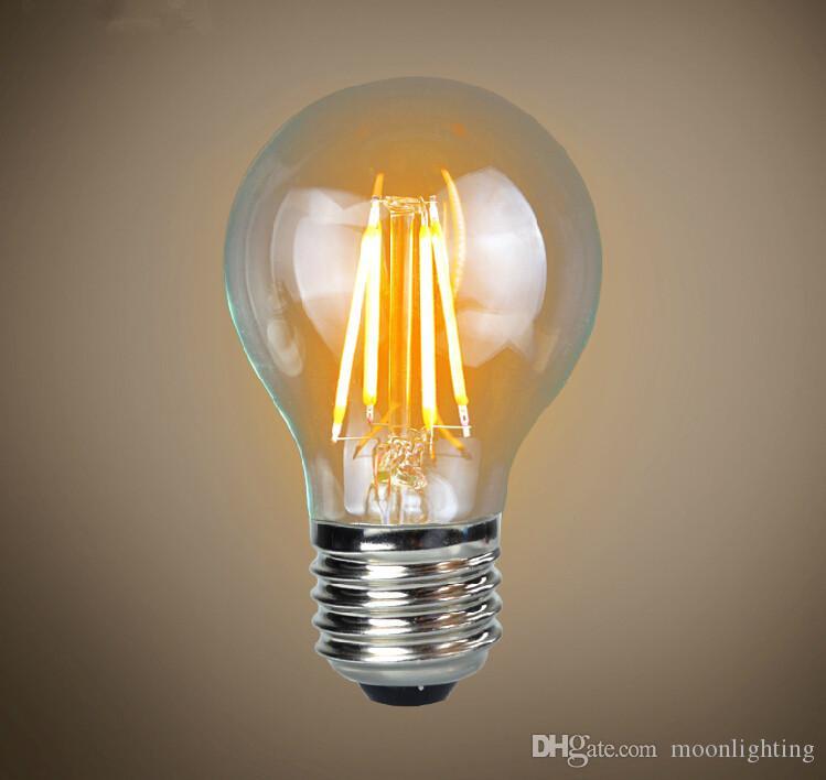 10x Cob 4w Led Filament Bulb Lamp Light E27 B22 Dimmable Ac110v 220v