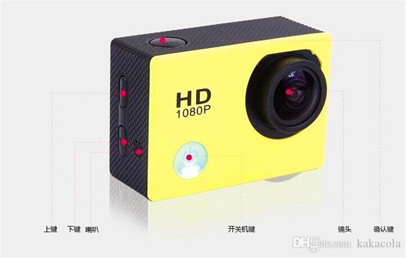 1080p полный HD WiFi действий камеры в исходном SJ6000 Спорт водонепроницаемая камера 170° мини видеокамера шлем камеры 2' ЖК-12MP H. 264 автомобильный видеорегистратор