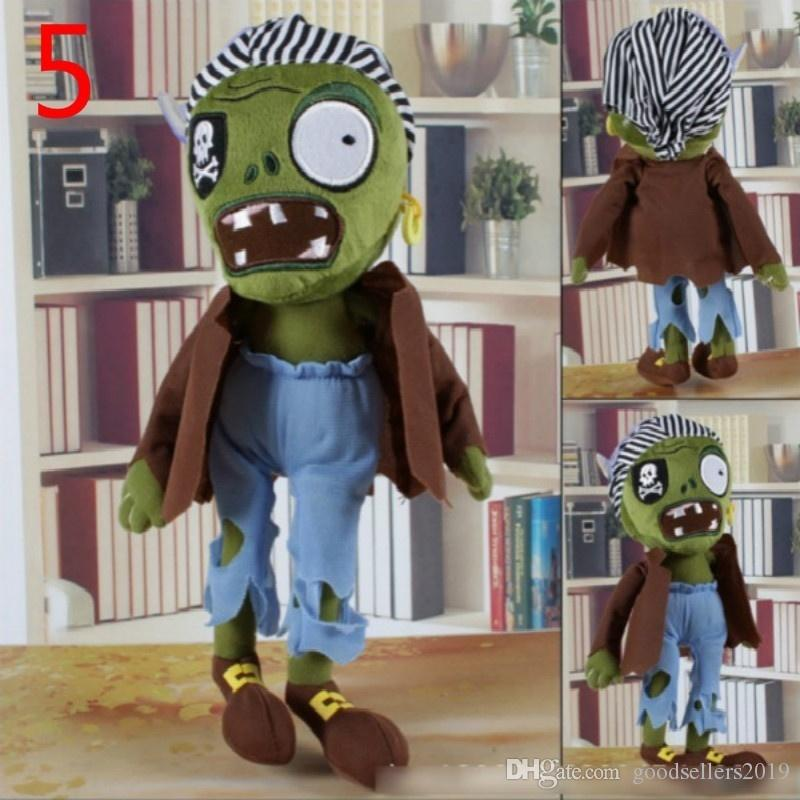 10 style 30CM 12'' Plants Vs Zombies Soft Plush Toy Doll Game Figure Statue Baby Toy for Children Gifts