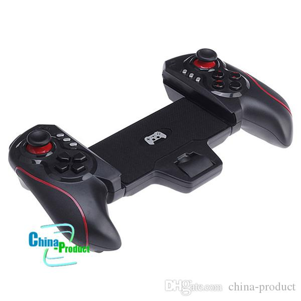 Newest BTC-938 Wireless Game Controller Telescopic Joystick Gamepad for Android Tablet PC TV Box Smartphone 010210