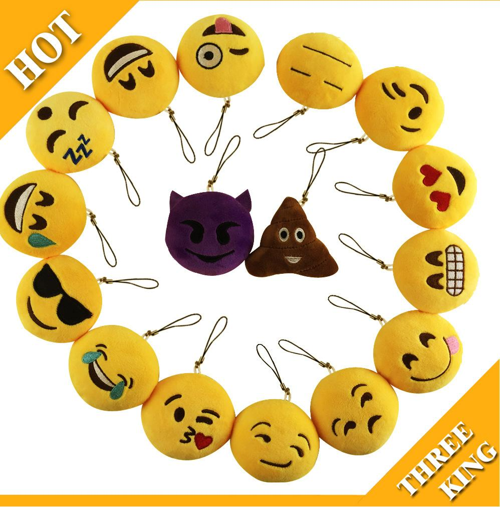 Promotional Cute Smiley Face Toy Gift Hanging Drop Emoji Smiley ... 54742905a3f7