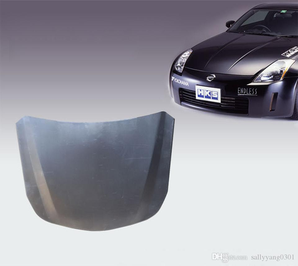 55*41cm Metal car speed shape silver car bonnet painted hood for Vehicle glass coating display MX-179E